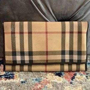 Burberry wallet with water damage